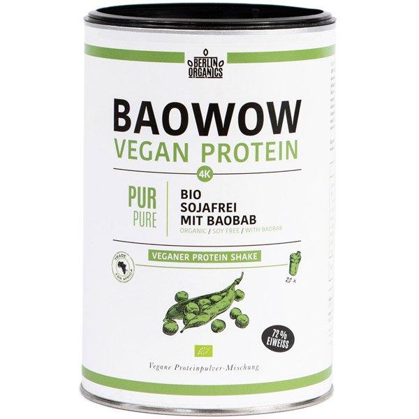 vegan protein baowow pur f r 19 99 kaufen berlin organics. Black Bedroom Furniture Sets. Home Design Ideas
