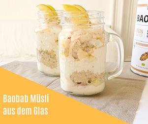 Rezept: Müsli aus dem Glas mit Baobab