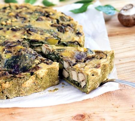 Vegane-Spinat-Kartoffel-Quiche