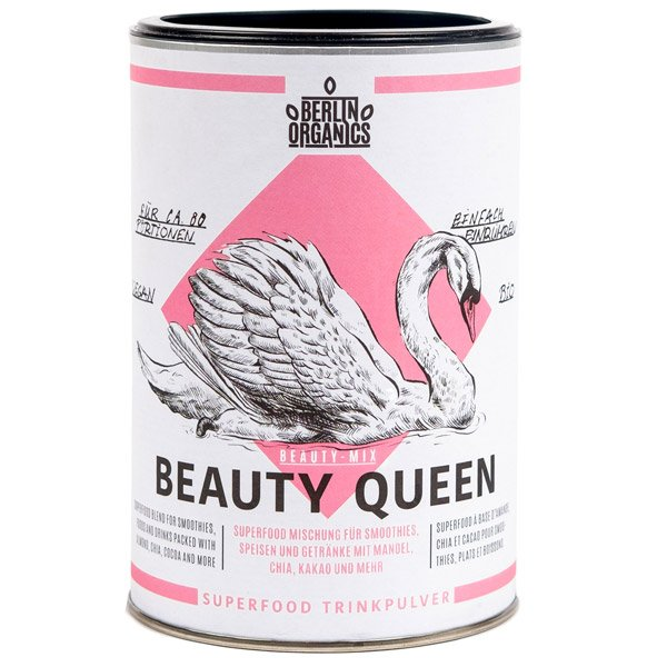 Bio Superfood Mischung Vegan Beauty Queen Mandelpulver