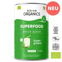 Green Queen Bio Superfood Pulver