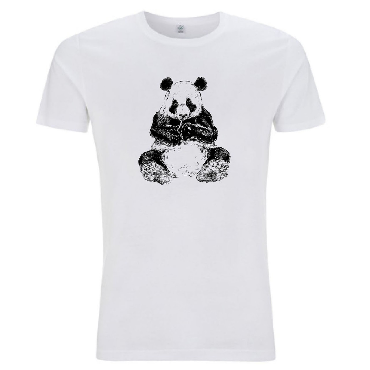 T-Shirt Panda Herren