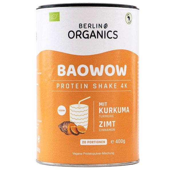 Berlin Organics Vegan Protein BAOWOW Kurkuma