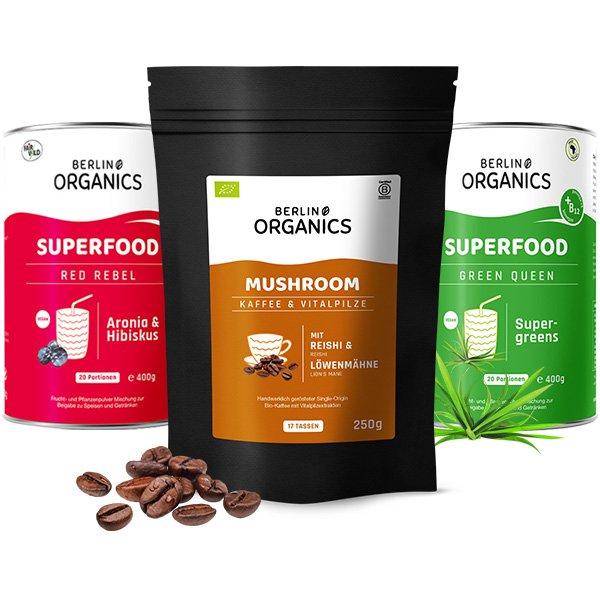 Morning Deluxe Bio Mushroom Coffee Set