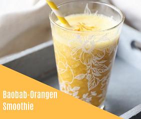 Rezept Baobab-Orangen-Smoothie