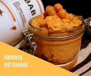 Rezept Hummus mit Baobab