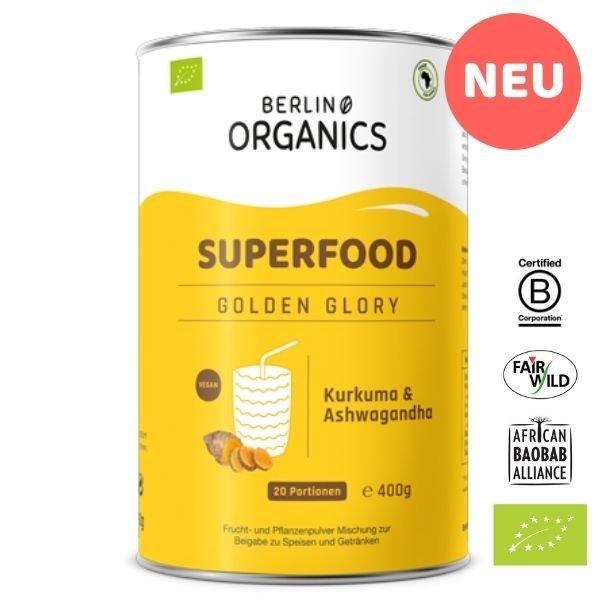 Golden Glory Bio Superfood Pulver