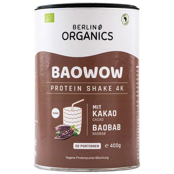 Berlin Organics Vegan Protein BAOWOW Schoko