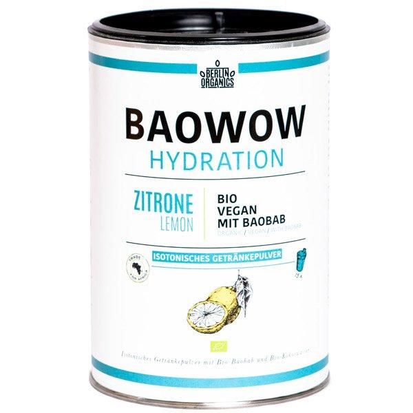 Bio Isotonisches Getränkepulver BAOWOW Hydration