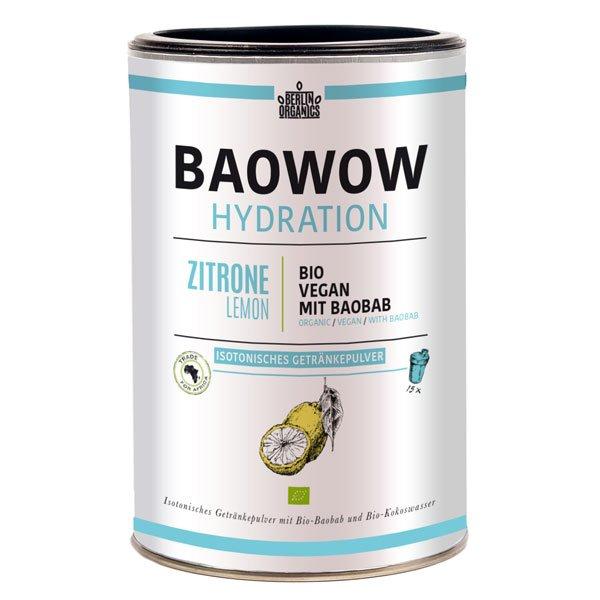 BAOWOW Hydration Bio Sportgetränk mit Baobab