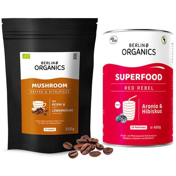 Morning Gold Bio Mushroom Coffee Set