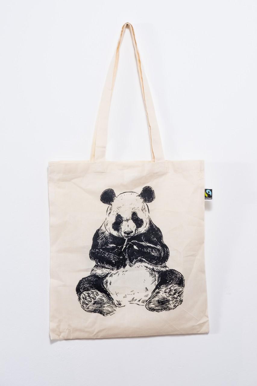 Tragetaschen, Shoppen, Einkaufstasche, Organic Panda, Berlin Organics