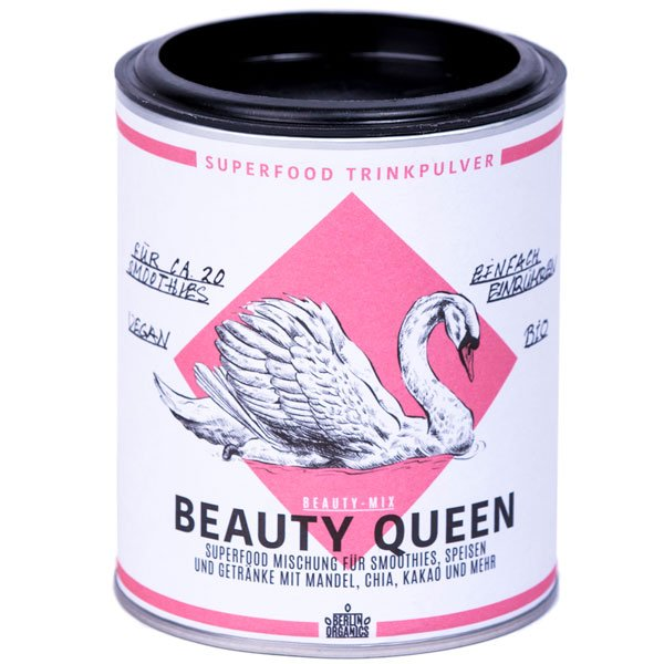 Bio Superfood Mischung Vegan Beaty Queen Mandelpulver